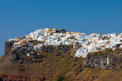 Imerovigli on Santorini Island Royalty Free Stock Image
