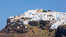 Imerovigli town on Santorini Island Stock Photography