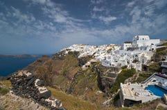 Imerovigli view in Santorini Stock Images