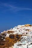 Imerovigli village architecture, Santorini island Royalty Free Stock Image