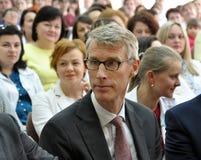 IMF Osiadły przedstawiciel w Ukraina Yosta Ljungman obrazy royalty free