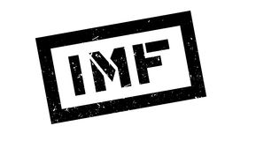 IMF rubber stamp Stock Images