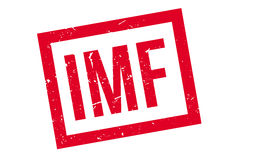 IMF rubber stamp Royalty Free Stock Image