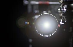 Img 6079放映机透镜 图库摄影