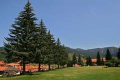 Greek village,Metsovo Royalty Free Stock Photo