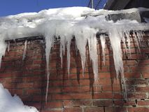IMG_4974 Icicles ©2018 Paul Light Royalty Free Stock Image