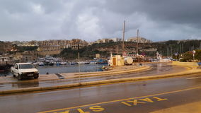 Imgarr gozo channel landscape Royalty Free Stock Image