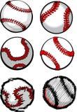 Imágenes de la bola del béisbol Foto de archivo