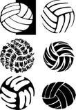 Imágenes de la bola del voleibol Fotos de archivo libres de regalías