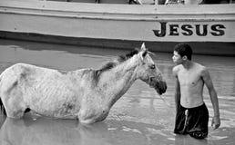 Imágenes del Brasil Río San Francisco Foto de archivo libre de regalías