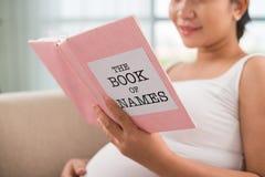 Imię dla przyszłościowego dziecka obrazy stock