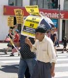Imigracyjnej reformy wiec w Stany Zjednoczone Zdjęcia Stock