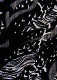 Imitação do tigre preto e branco Imagem de Stock Royalty Free