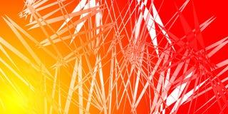 Imitación de los cristales del fuego stock de ilustración