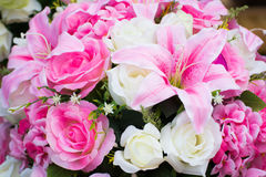 Imitacja kwiaty obrazy stock