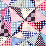 Imitacja patchwork ilustracji