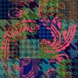 Imitacja patchwork ilustracja wektor