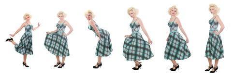Imitador de Marilyn Monroe Fotografía de archivo libre de regalías