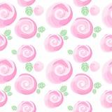 Imitatie en leuk klein de bloemen naadloos patroon van waterverfrozen, vectorillustratie, editable elementen, niet een spoor Royalty-vrije Stock Foto
