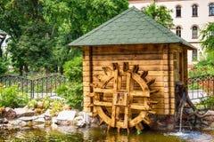 Imitatie van een kleine molen stock fotografie