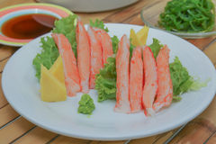 Imitation Alaska Crab Stick Stock Images