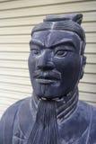 Imitation chinese terra-cotta warrior royalty free stock photo