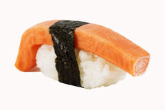 Imitation crab sushi Royalty Free Stock Photo