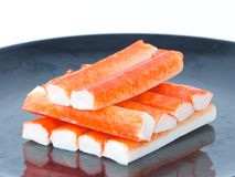 Imitation crabmeat Stock Photos