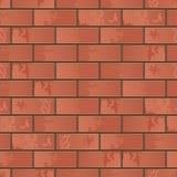Imitation d'un mur de briques illustration de vecteur