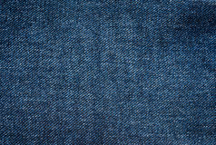 Imitation of denim. Texture of fabric. Rectangular blue background. royalty free stock photo