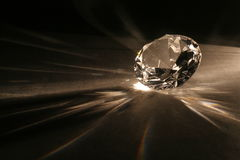Imitation of the diamond Stock Image