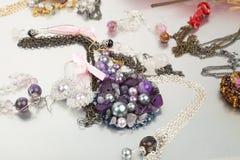 Imitation jewellery Royalty Free Stock Photo