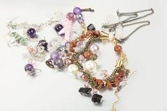 Imitation jewellery Royalty Free Stock Photography