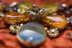 Imitation jewelry. Royalty Free Stock Photos
