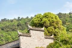 Imitation of Ming Dynasty architecture Stock Image