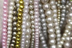 Imitation Pearls Thailand Stock Photos