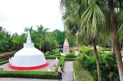 Imitation reduced Burma Yangon pagoda Stock Photos