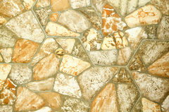 Imitation stone tile texture Royalty Free Stock Images