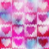 Imitation Sweater knit Melange effect Royalty Free Stock Photo