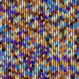 Imitation Sweater knit Melange effect. Seamless background pattern. Imitation of Sweater knitting with melange effect Royalty Free Stock Photos