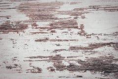 Imitation of worn white wood paint royalty free stock image