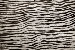 Imitation zebra leather texture background Stock Photos