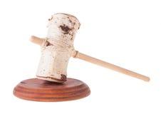 Imitazione del giudice Gavel e della tavola armonica Fotografia Stock Libera da Diritti