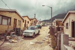 Imizamu Yethu Township Houtbay Stock Image