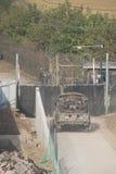南韩战士 免版税库存图片