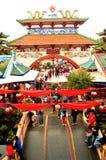 Imlek. Suasana imlek di Kota Wisata, Indonesia Royalty Free Stock Images