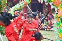 Imlek. Suasana Imlek Di TMII, Indonesia Stock Images