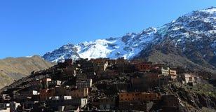 Imlil dolina Zdjęcie Royalty Free