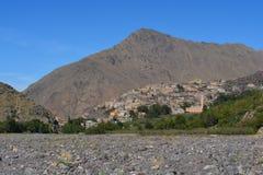 Imlil i Marocko Norr Afrika Fotografering för Bildbyråer