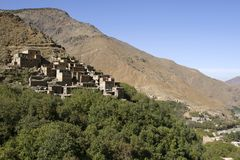 Imlil in Toubkal National Park, Morocco Stock Photo